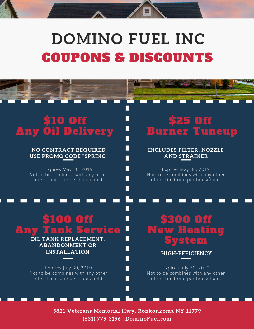 discount fuel coupons heating oil promo code